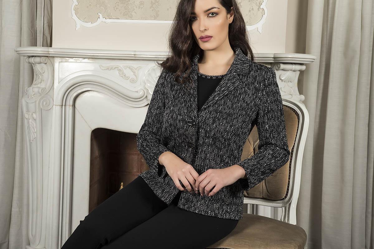 Aldo Colombo Collezione 2019 2020 autunno inverno giacca elegante in pura lana
