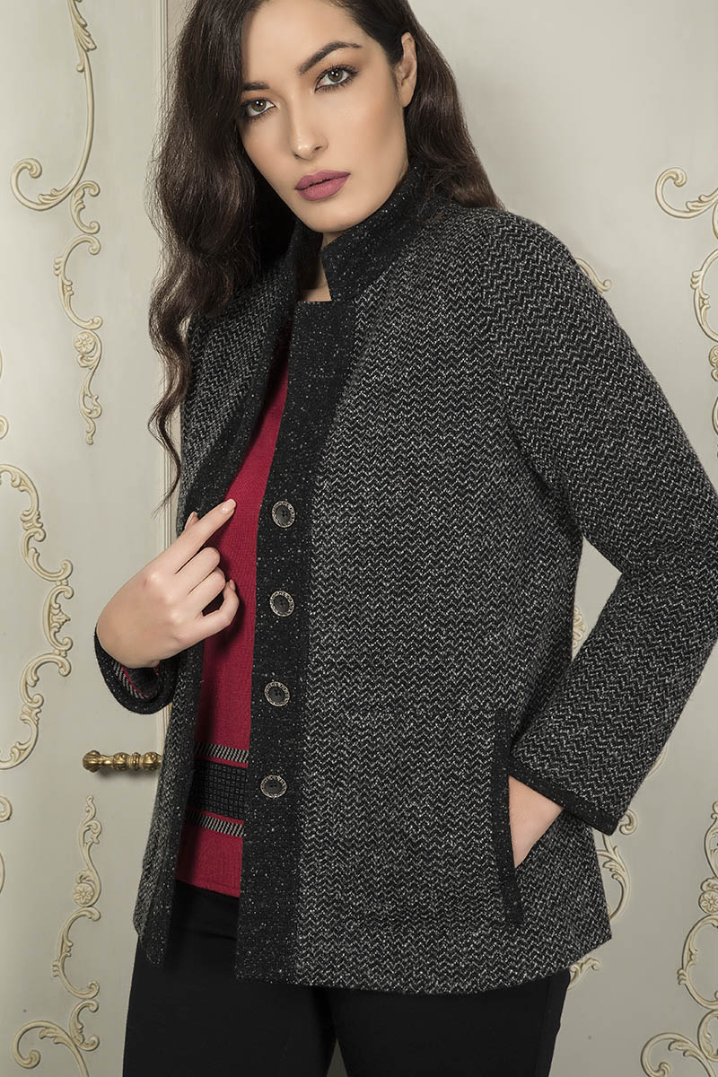 Aldo Colombo Collezione 2019 2020 giacca e maglia in lana pura