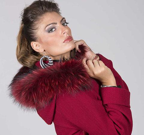 aldo colombo cappotto rosso lana