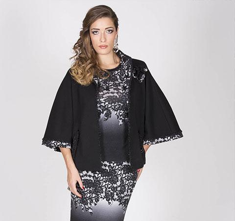 aldo colombo vestito nero